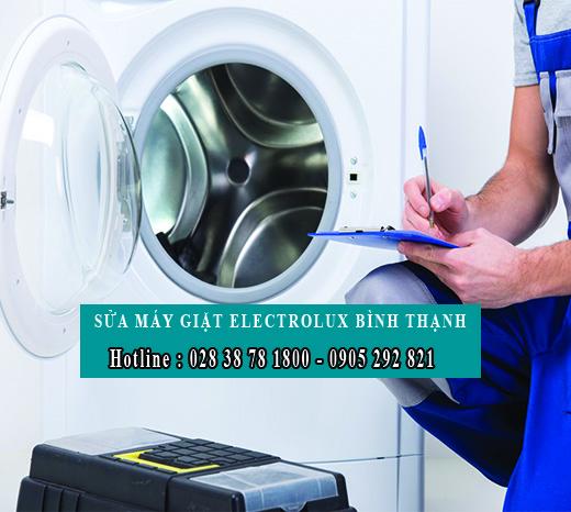trung tâm sửa máy giặt electrolux quận Bình Thạnh